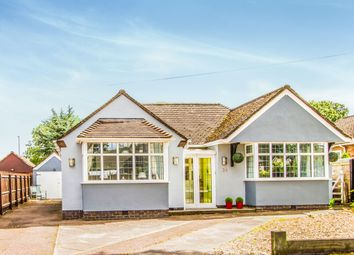 Thumbnail 4 bed detached bungalow for sale in Greenmoor Road, Burbage, Hinckley