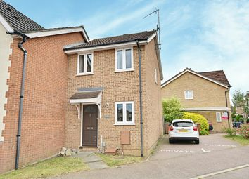 Thumbnail 2 bed end terrace house to rent in The Copse, Hertford