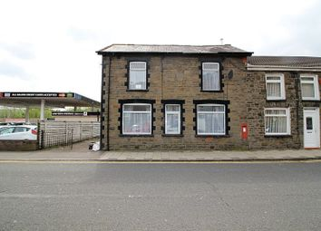 Thumbnail 3 bed end terrace house for sale in Tyntyla Road, Llwynypia, Tonypandy