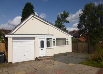 Thumbnail 2 bed detached bungalow to rent in Vernon Close, Sutton Coldfield
