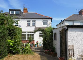 Thumbnail 3 bedroom semi-detached house for sale in Hastings Avenue, Penarth