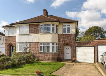 Thumbnail 3 bed semi-detached house for sale in Cranleigh Gardens, Winchmore Hill