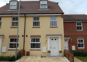 Thumbnail 3 bed town house to rent in Old College Walk, Cosham, Portsmouth