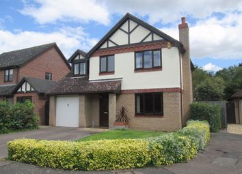 Thumbnail 4 bedroom detached house to rent in Woodcote Park, Wisbech