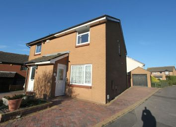 Thumbnail 3 bed semi-detached house for sale in Purdey Close, Barry