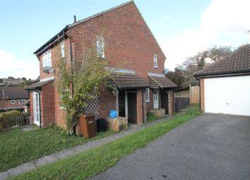 Thumbnail 1 bedroom end terrace house for sale in Charlotte Close, Walderslade, Kent