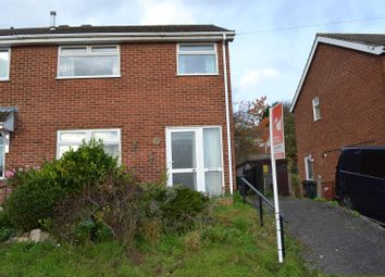 Thumbnail 3 bedroom semi-detached house for sale in Fairfield Crescent, Newhall, Swadlincote