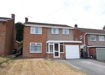 Thumbnail 3 bed detached house for sale in Grosvenor Close, Four Oaks, Sutton Coldfield