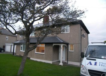 Thumbnail 3 bedroom semi-detached house to rent in Village Road, Cramlington
