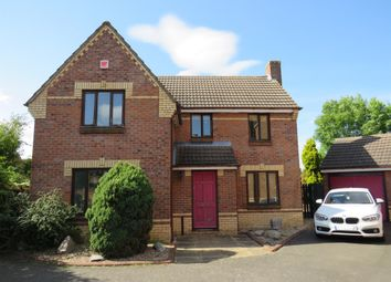 Thumbnail 4 bed detached house for sale in Edgbaston Close, Leicester