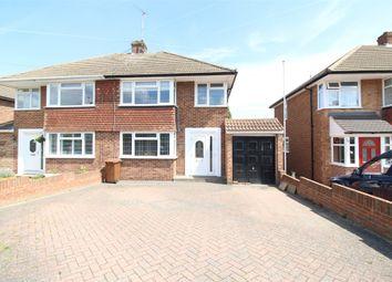 Thumbnail 3 bed semi-detached house for sale in Lyndhurst Avenue, Gillingham, Kent.