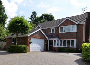 Thumbnail 4 bed detached house for sale in Stockton Close, Knowle, Solihull
