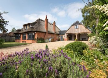 Thumbnail 4 bed detached house for sale in School Hill, Ranworth, Norwich