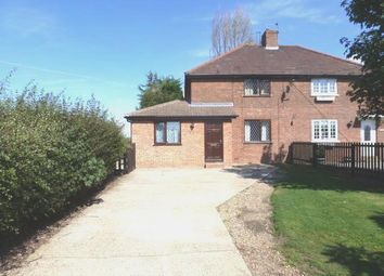 Thumbnail 3 bedroom semi-detached house for sale in Cole Street, Wilby, Eye