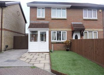 Thumbnail 3 bed semi-detached house for sale in Llys Dol, Morriston, Swansea