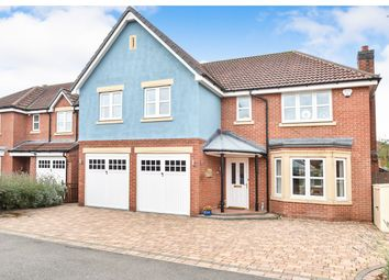 Thumbnail 5 bed detached house for sale in Nettleton Close, Littleover, Derby
