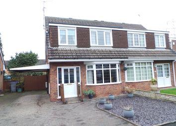 Thumbnail 3 bed semi-detached house to rent in Hazeldene Road, Trentham, Stoke-On-Trent