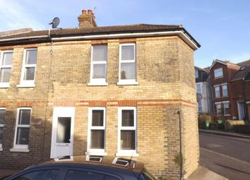 Thumbnail 2 bedroom end terrace house for sale in Burrow Road, Folkestone, Kent