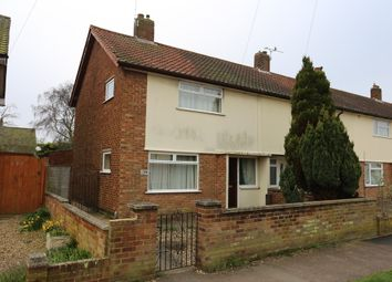 Thumbnail 2 bed end terrace house for sale in Coronation Drive, Felixstowe
