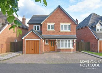 Thumbnail 4 bed detached house for sale in Oakham Road, Tividale, Oldbury
