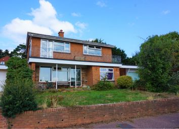 Thumbnail 4 bed detached house for sale in Parkside Drive, Exmouth