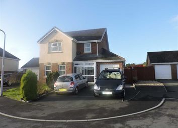 Thumbnail 4 bed detached house for sale in Ffordd Werdd, Gorslas, Llanelli