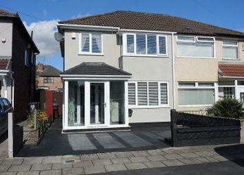 Thumbnail 3 bed semi-detached house for sale in Hilary Avenue, Swanside, Liverpool