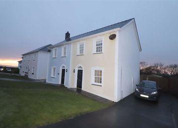 Thumbnail 2 bed semi-detached house for sale in Stad Craig Ddu, Llanon, Ceredigion