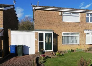 Thumbnail 3 bed semi-detached house for sale in Glendale Close, Westerhope, Newcastle Upon Tyne