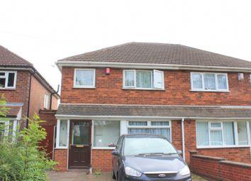 Thumbnail 3 bed semi-detached house to rent in Aldridge Road, Great Barr, Birmingham