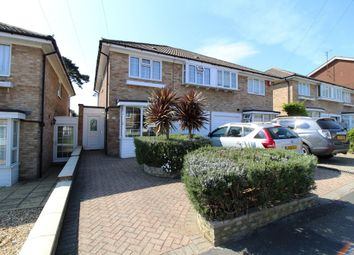 Thumbnail 4 bed semi-detached house for sale in East Lodge Park, Farlington, Portsmouth