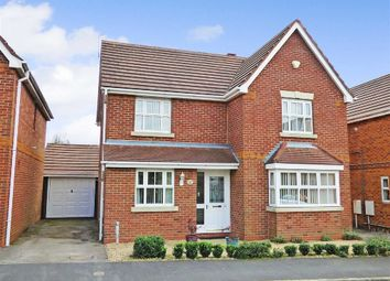 Thumbnail 4 bed detached house for sale in Waterlily Close, Cannock, Staffordshire