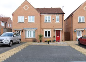 Thumbnail 2 bed semi-detached house for sale in Holywell Avenue, Glasshoughton, Castleford, West Yorkshire
