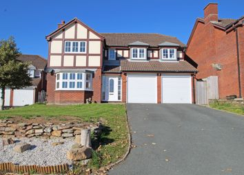 Thumbnail 5 bed detached house for sale in Philip Gardens, Plymstock, Plymouth, Devon
