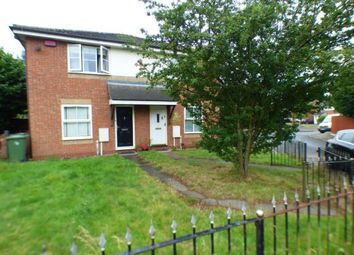 Thumbnail 1 bed semi-detached house for sale in Wareham Close, Walsall, West Midlands