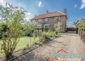 Thumbnail 3 bed semi-detached house for sale in The Street, Dilham, North Walsham