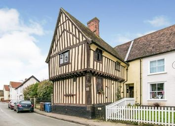 Thumbnail 4 bed semi-detached house for sale in Glemsford, Sudbury, Suffolk