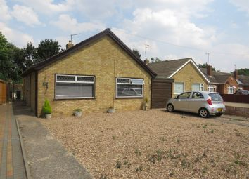 Thumbnail 2 bed detached bungalow for sale in Coneygree Road, Stanground, Peterborough