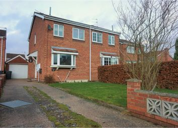 Thumbnail 2 bed semi-detached house for sale in Hund Oak Drive, Hatfield, Doncaster