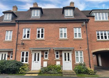 Thumbnail 3 bed town house for sale in Goods Yard Close, Loughborough