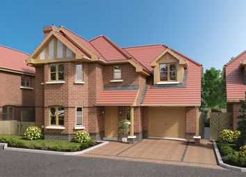 Thumbnail 4 bed detached house for sale in Bearwood, The Oaks, Sindlesham