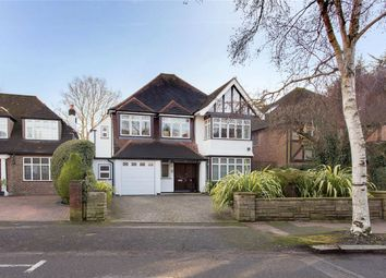 Thumbnail 5 bed detached house for sale in Lake View, Edgware, Middlesex