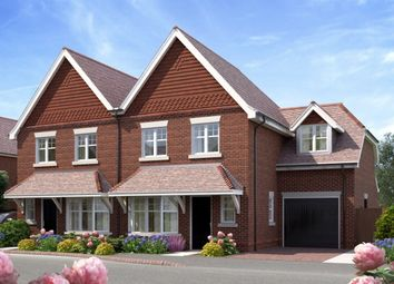 Thumbnail 3 bed semi-detached house for sale in New Road, Chilworth, Guildford