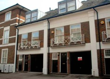 Thumbnail 3 bedroom town house to rent in Belsize Grove, London