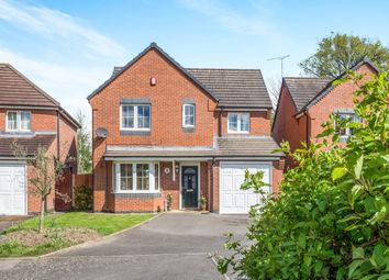 Thumbnail 4 bedroom detached house for sale in Lucerne Close, Aldermans Green, Coventry