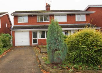 Thumbnail 3 bed semi-detached house for sale in York Drive, Mickle Trafford, Chester