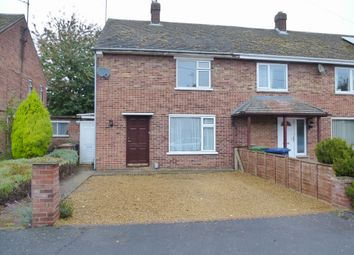 Thumbnail 2 bed end terrace house for sale in Bramley Road, Wisbech