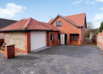 Thumbnail 4 bed detached house for sale in Norwich Road, Cromer