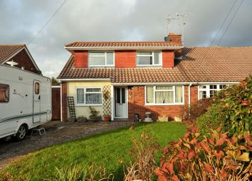 Thumbnail 4 bed semi-detached house for sale in Coniston Road, Goring-By-Sea, Worthing