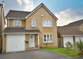 Thumbnail 4 bed detached house for sale in Grayson Way, Llantarnam, Cwmbran